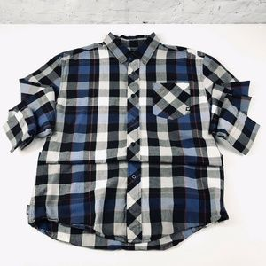 Men's Zoo York Button Down Plaid Skate Shirt